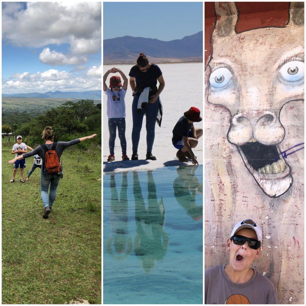 מטיילים בדרום אמריקה עם ילדים